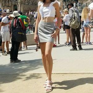 Wool and Cashmere Aritzia Skirt